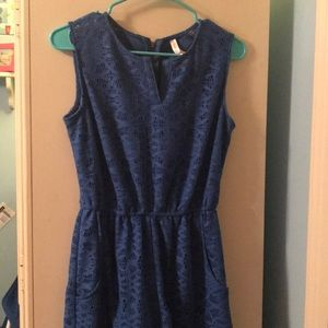 Blue Romper from Target